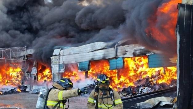 용인 SLC물류센터 화재 인재로 판명